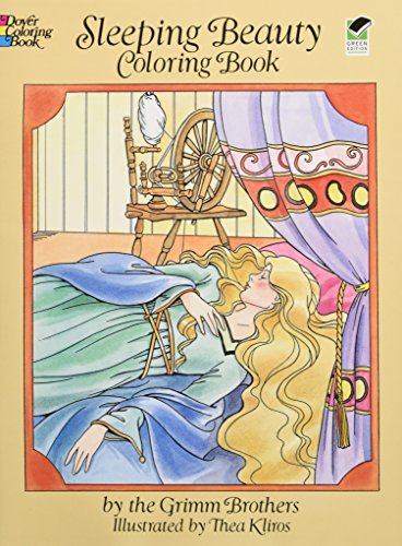 9780486273181: Sleeping Beauty Coloring Book
