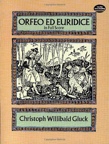 9780486273242: Orfeo ed Euridice in Full Score (Dover Music Scores)