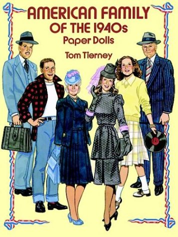 9780486273365: American Family of the 1940s: Paper Dolls