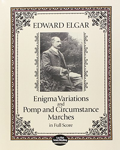 9780486273426: Enigma Variations and Pomp and Circumstance Marches in Full Score (Dover Music Scores)