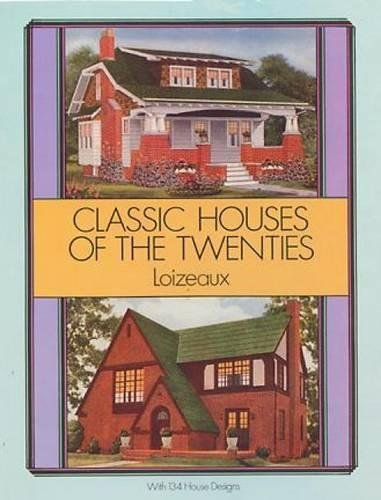 9780486273884: Classic Houses of the Twenties (Dover Architecture)