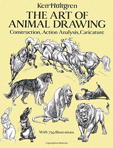 9780486274263: The Art of Animal Drawing: Construction, Action Analysis, Caricature (Dover Art Instruction)