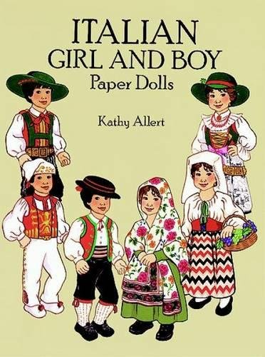 9780486274614: Italian Girl and Boy Paper Dolls (Dover Paper Dolls)