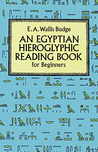 9780486274867: Egyptian Hieroglyphic Reading Book for Beginners