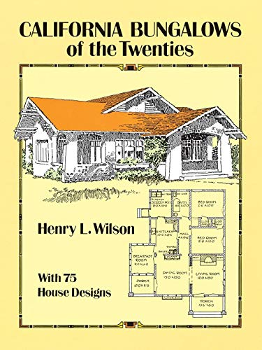 9780486275079: California Bungalows of the Twenties (Dover Architecture)