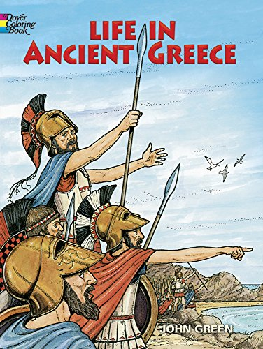 9780486275093: Life in Ancient Greece Coloring Book