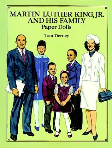9780486275239: Martin Luther King, Jr., and His Family: Paper Dolls (in Full Color)