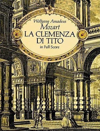 9780486275406: La Clemenza Di Tito in Full Score: In Full Score