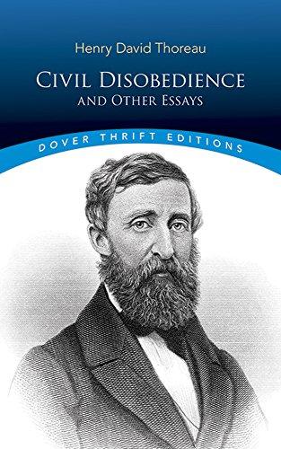 thoreau essays on civil disobedience
