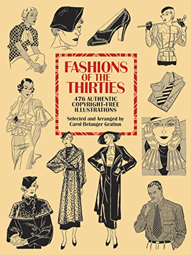 9780486275802: Fashions of the Thirties: 476 Authentic Copyright-Free Illustrations