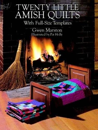 9780486275826: Twenty Little Amish Quilts: With Full-Size Templates (Dover Quilting)