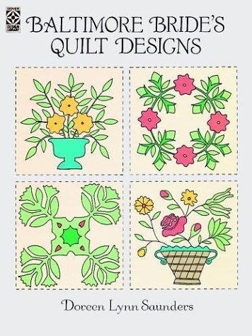 9780486276106: Baltimore Bride's Quilt Designs (Dover Pictorial Archives)