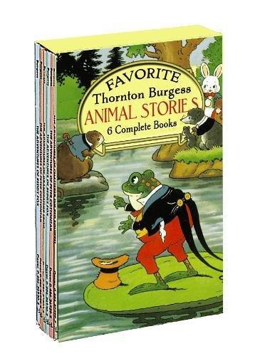 9780486276342: Favorite Thornton Burgess Animal Stories Boxed Set (Sets)