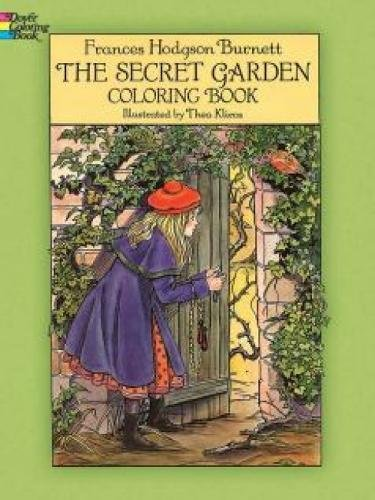 9780486276809: The Secret Garden Coloring Book