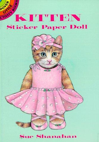 9780486276892: Kitten Sticker Paper Doll (Dover Little Activity Books)