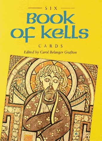 9780486277158: Six Book of Kells Cards (Small-Format Card Books)
