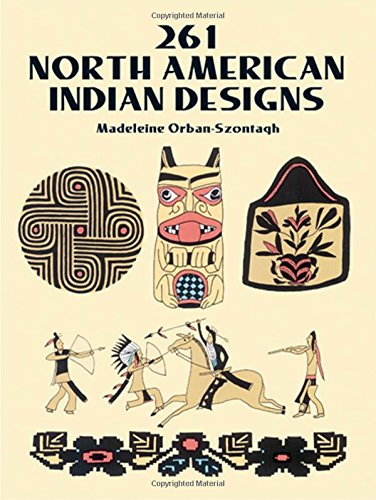 9780486277189: 261 North American Indian Designs (Dover Pictorial Archive)