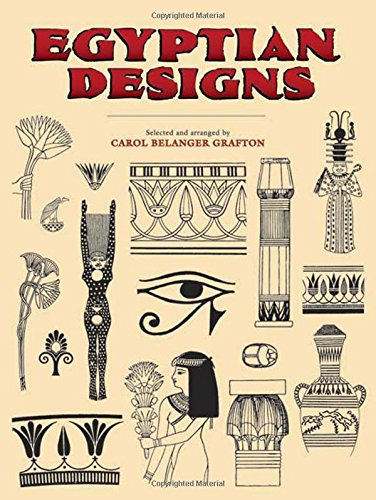 9780486277202: Egyptian Designs (Dover Pictorial Archive)