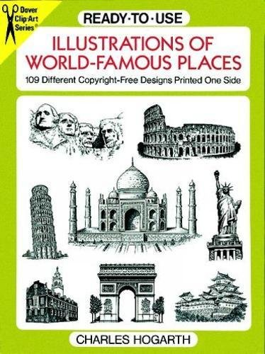 9780486277226: Ready-to-Use Illustrations of World-Famous Places: 109 Different Copyright-Free Designs Printed One Side (Dover Clip Art Ready-to-Use)