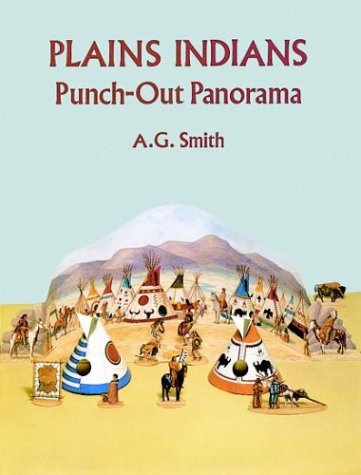 Plains Indians. Punch-Out Panorama.