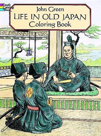 9780486277431: Life in Old Japan Coloring Book (Dover Pictorial Archives)