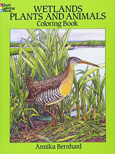 9780486277493: Wetlands Plants and Animals Coloring Book
