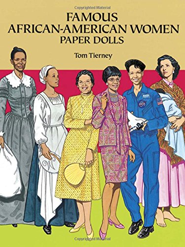 9780486277547: Famous African-American Women Paper Dolls (Dover Paper Dolls)