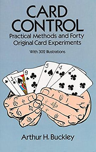 9780486277578: Card Control: Practical Methods and Forty Original Card Experiments