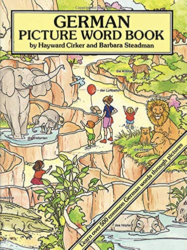 9780486277783: German Picture Word Book (Dover Children's Language Activity Books)