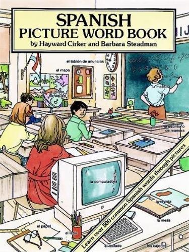 9780486277790: Spanish Picture Word Book (Dover Children's Language Activity Books)