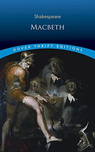 9780486278025: Macbeth (Dover Thrift Editions)