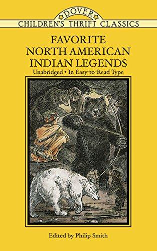 Favorite North American Indian Legends (Paperback)