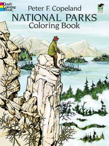 9780486278322: National Parks Coloring Book (Dover Nature Coloring Book)