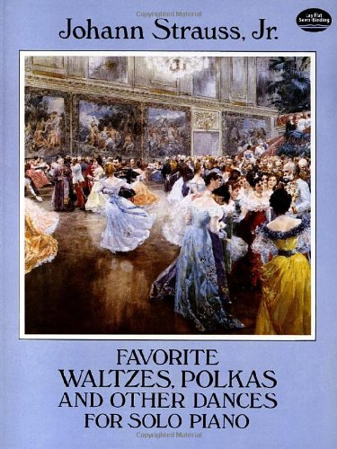 9780486278513: Favorite Waltzes, Polkas and Other Dances for Solo Piano (Dover Music for Piano)