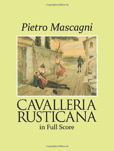 9780486278667: Cavalleria Rusticana in Full Score (Dover Vocal Scores)