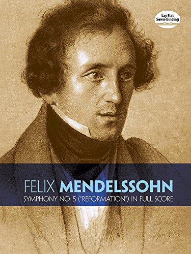 9780486278759: Felix Mendelssohn: Symphony No.5 The Reformation (Full Score)