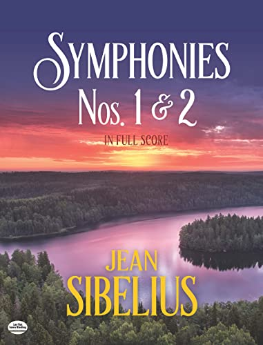 9780486278865: Symphonies 1 and 2 in Full Score