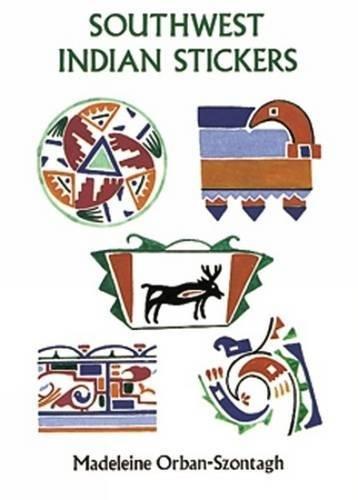 9780486279121: Southwest Indian Stickers: 24 Pressure-Sensitive Designs (Dover Stickers)