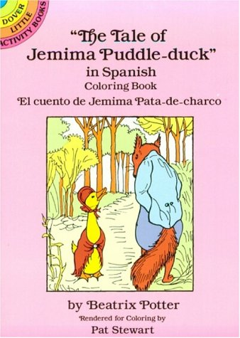 9780486279145: El Cuento de Jemima Pata-de-Charco: Libro de Cuentos En Colores: Colouring Book (Dover Little Activity Books)