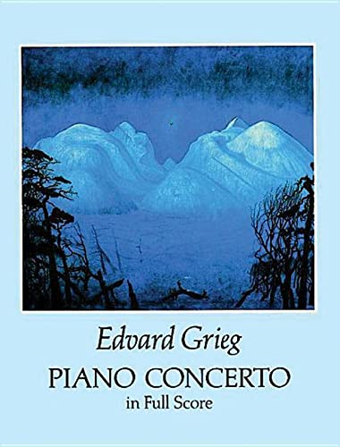 9780486279312: Piano Concerto in Full Score (Dover Music Scores)
