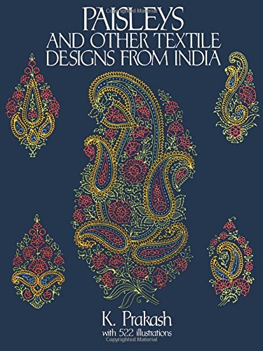 9780486279596: Paisleys and Other Textile Designs from India (Dover Pictorial Archive)