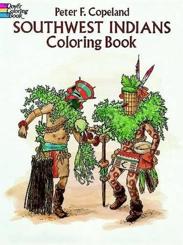 9780486279640: Southwest Indians Coloring Book (Dover History Coloring Book)