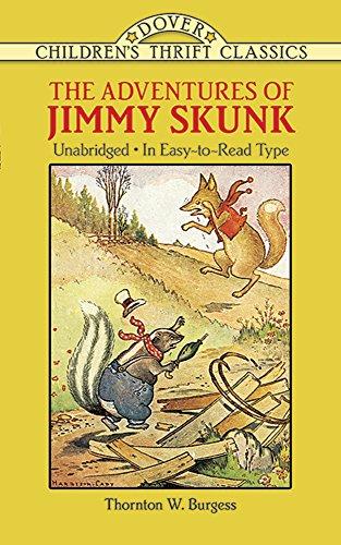 9780486280233: The Adventures of Jimmy Skunk (Dover Children's Thrift Classics)