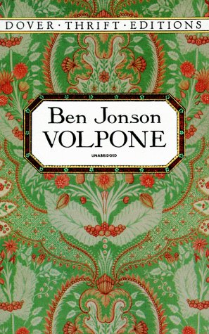 9780486280493: Volpone (Dover Thrift Editions)