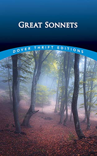 9780486280523: Great Sonnets (Dover Thrift Editions)