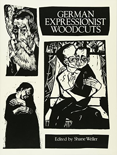 9780486280691: German Expressionist Woodcuts (Dover Fine Art, History of Art)