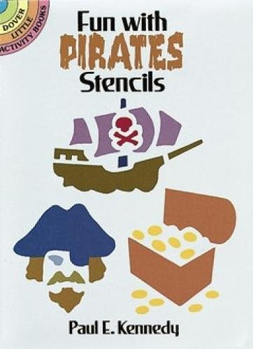 9780486280745: Fun with Pirates Stencils (Dover Stencils)