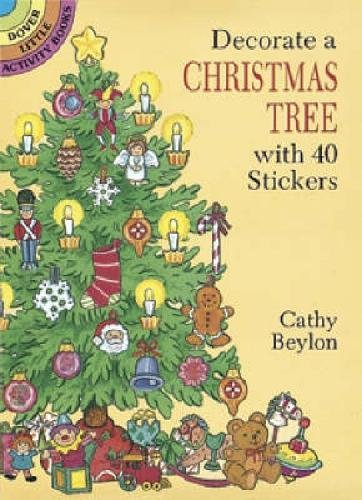 9780486281049: Decorate a Christmas Tree with 40 Stickers (Dover Little Activity Books Stickers)