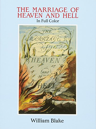 9780486281223: The Marriage of Heaven and Hell: A Facsimile in Full Color (Dover Fine Art, History of Art)