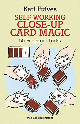 9780486281247: Self-Working Close-Up Card Magic: 53 Foolproof Tricks